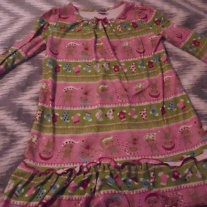 Girls Gingerbread NIghtgown